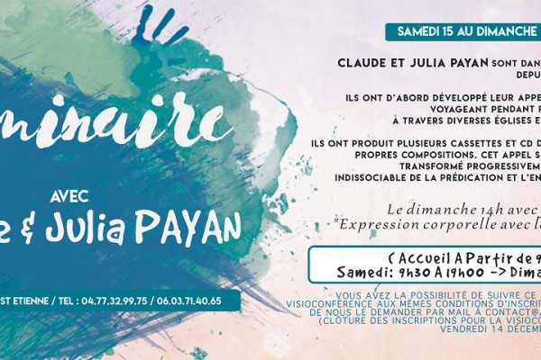 Weekend avec Claude et Julia Payan